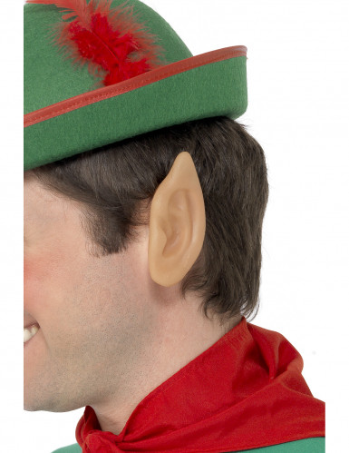 Orecchie da elfo in gomma per adulti