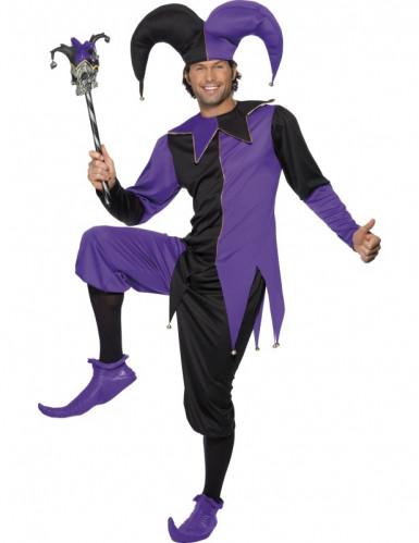 Costume da giullare medievale adulto
