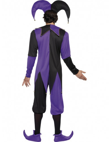 Costume da giullare medievale adulto-1