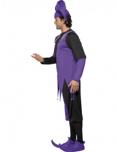 Costume da giullare medievale adulto-2