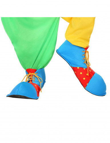 Scarpe da clown colorate per adulti