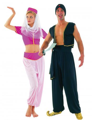 Costume da coppia orientale