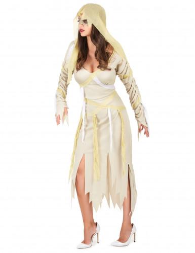 Costume da mummia per Halloween da donna