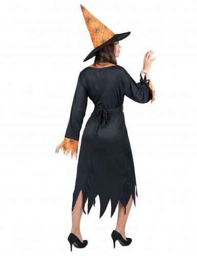 Costume Halloween strega ragno donna-2