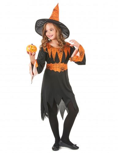 Costume strega bicolore bambina-1