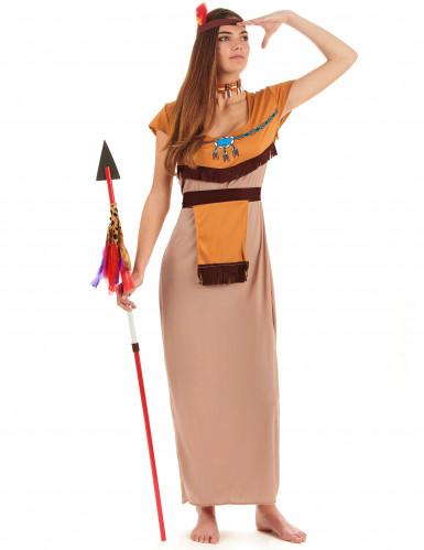 Costume lungo da indiana per donna