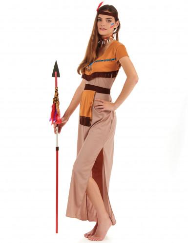 Costume lungo da indiana per donna-1