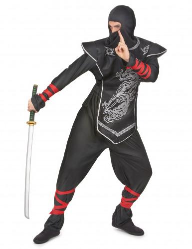 Costume da ninja per adulto-1