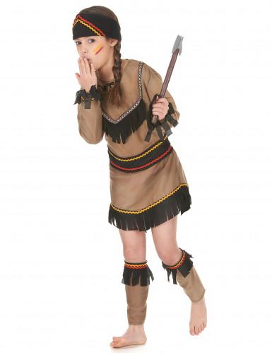 Costume per bambina da indiana-1