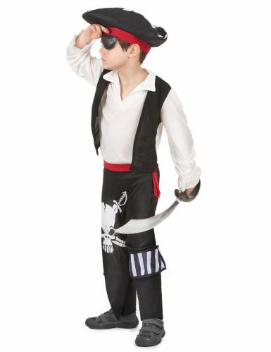 Costume da pirata con teschi bambino-1