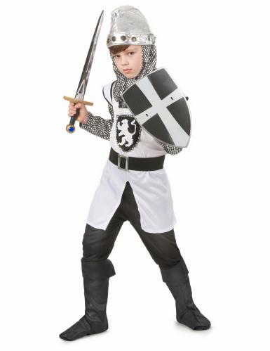 Costume da cavaliere delle Crociate per ragazzo-1