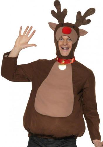 Travestimento per adulto renna Natale