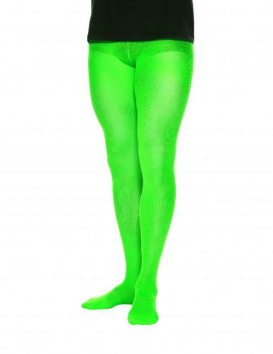 Collant opachi verdi per uomo