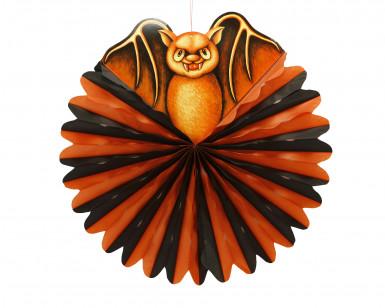 Sfera con pipistrello di Halloween