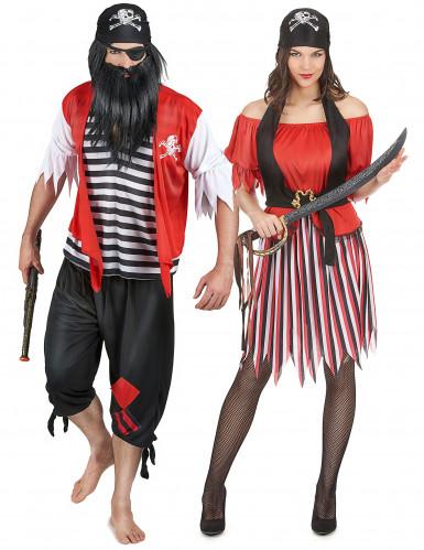 Costume uomo e donna pirati
