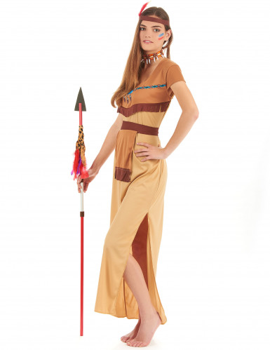 Costume per coppia da indiani per adulto-2