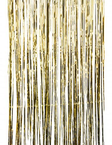 Tenda scintillante color oro-1