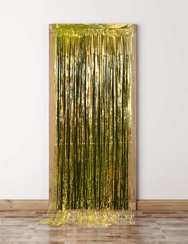 Tenda scintillante color oro-2