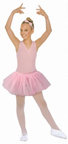 Gonna di tutù ballerina rosa bimba