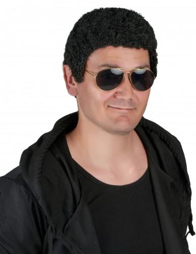 Parrucca stile afro per uomo
