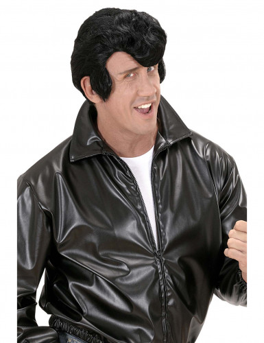 Parrucca nera danny per uomo