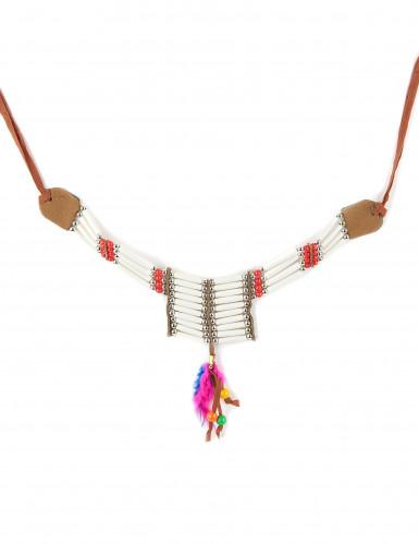 Collana in plastica da indiana