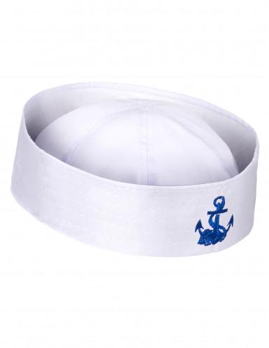 Cappello marinaio ancora blu adulto