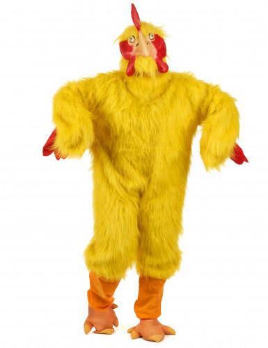Costume pollo giallo adulto
