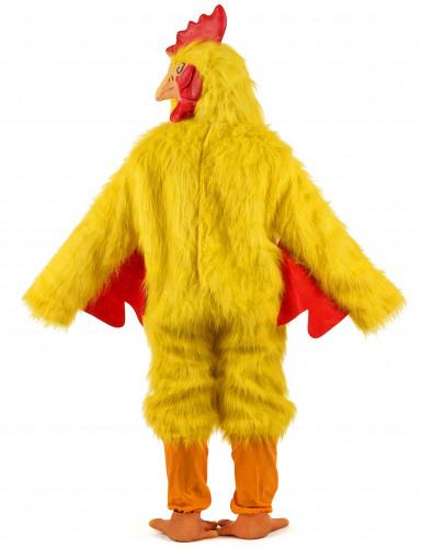 Costume pollo giallo adulto-2