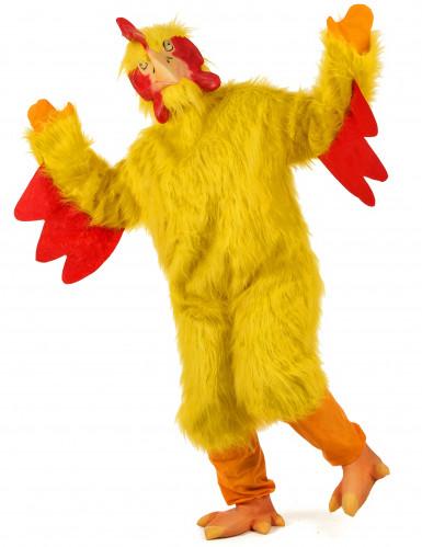 Costume pollo giallo adulto-1