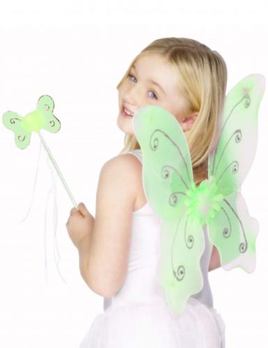 Kit da farfalla verde per ragazza