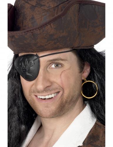 Benda e orecchino da pirata