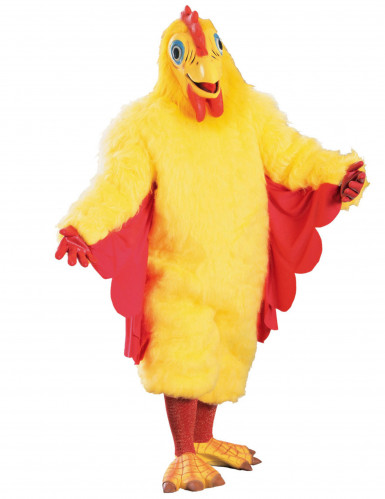 Costume da pollo per adulti
