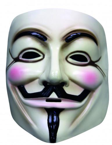 Maschera V per Vendetta™ da adulto