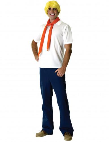 Set costume da uomo Fred Scooby-doo