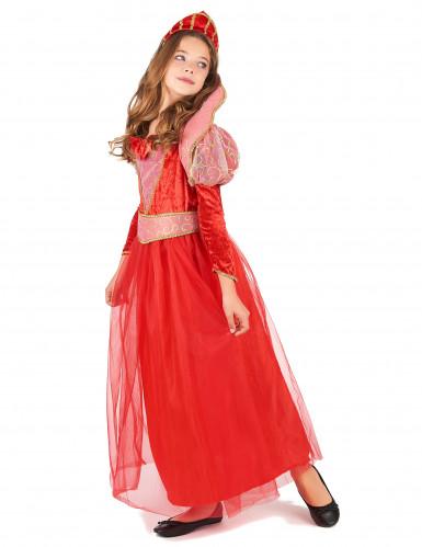 Costume da regina medievale per ragazza-1