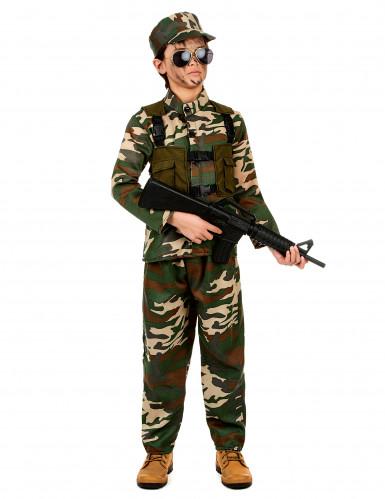 Travestimento militare per bambino