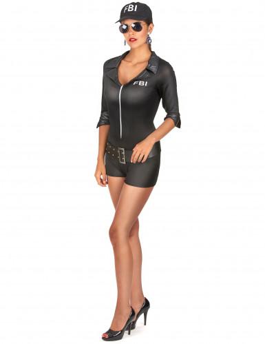 Costume donna da agente FBI sexy-1