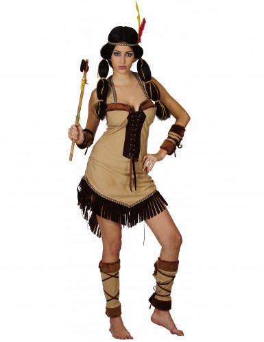 Costume di lusso da indiana per donna