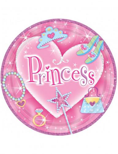 8 Piatti usa e getta principessa
