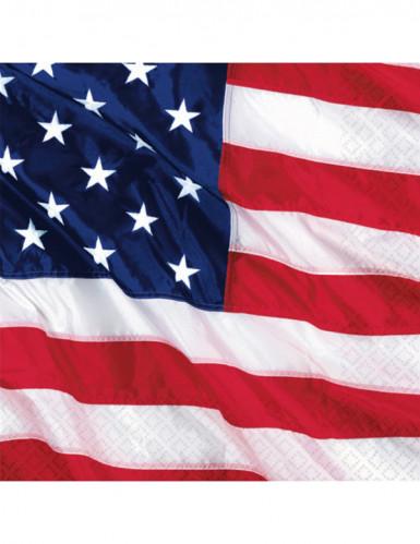 16 tovagliolini bandiera americana