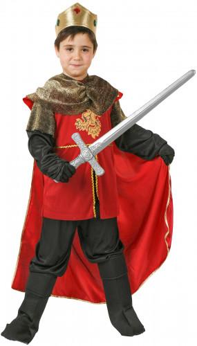 Costume da re medievale bambino