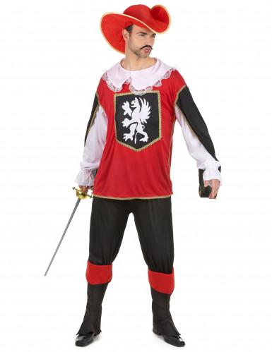 Costume da moschettiere per Carnevale da adulto