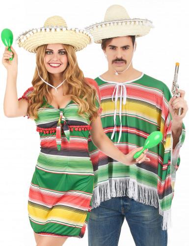 Costume coppia messicani