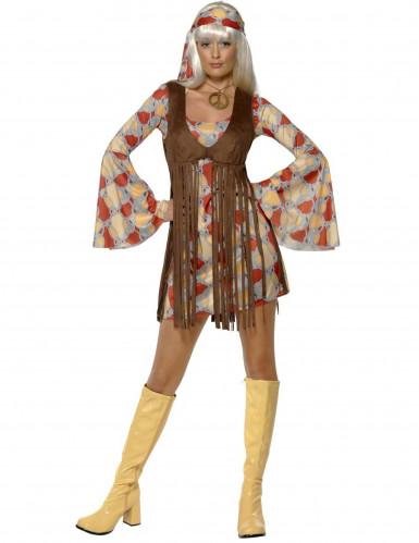 Costume da hippie anni 60-70 per donna