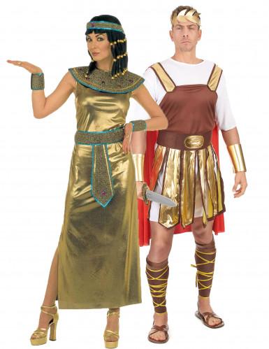 Costume per coppia imperatore romano e Cleopatra
