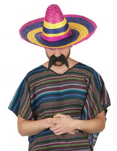 Sombrero con righe multicolor-1
