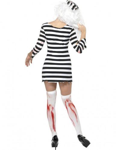 Costume da zombie prigioniera per donna-1
