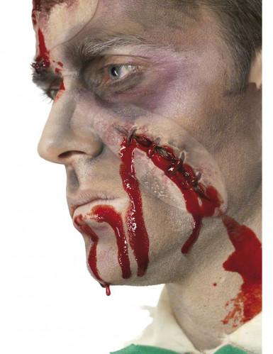 Piaga finta cicatrice viso