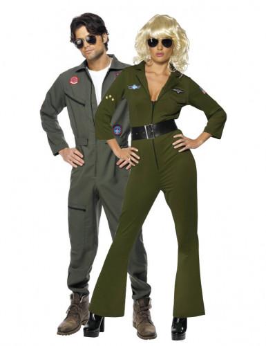 Coppia costumi uomo donna Top Gun™